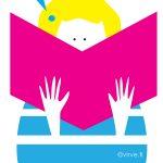 Osa Kirjamessujen kampanjakuvitusta
