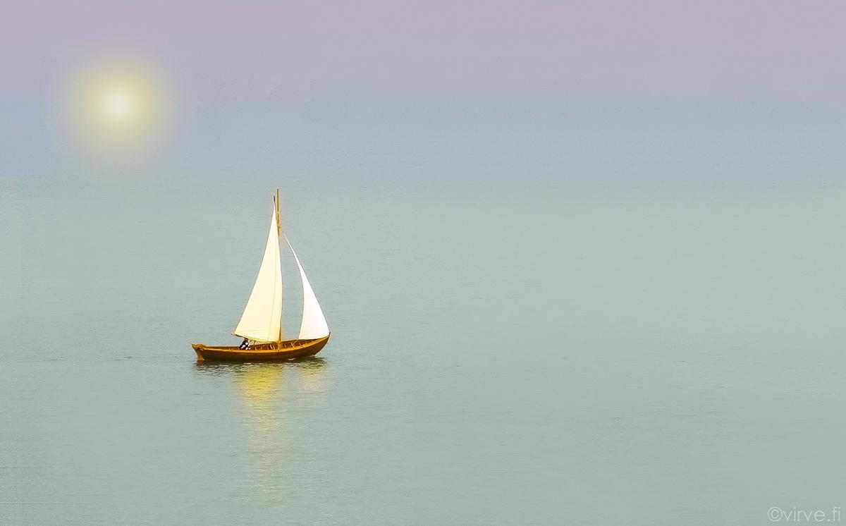 Lonely Boat menestyi valokuvakilpailussa