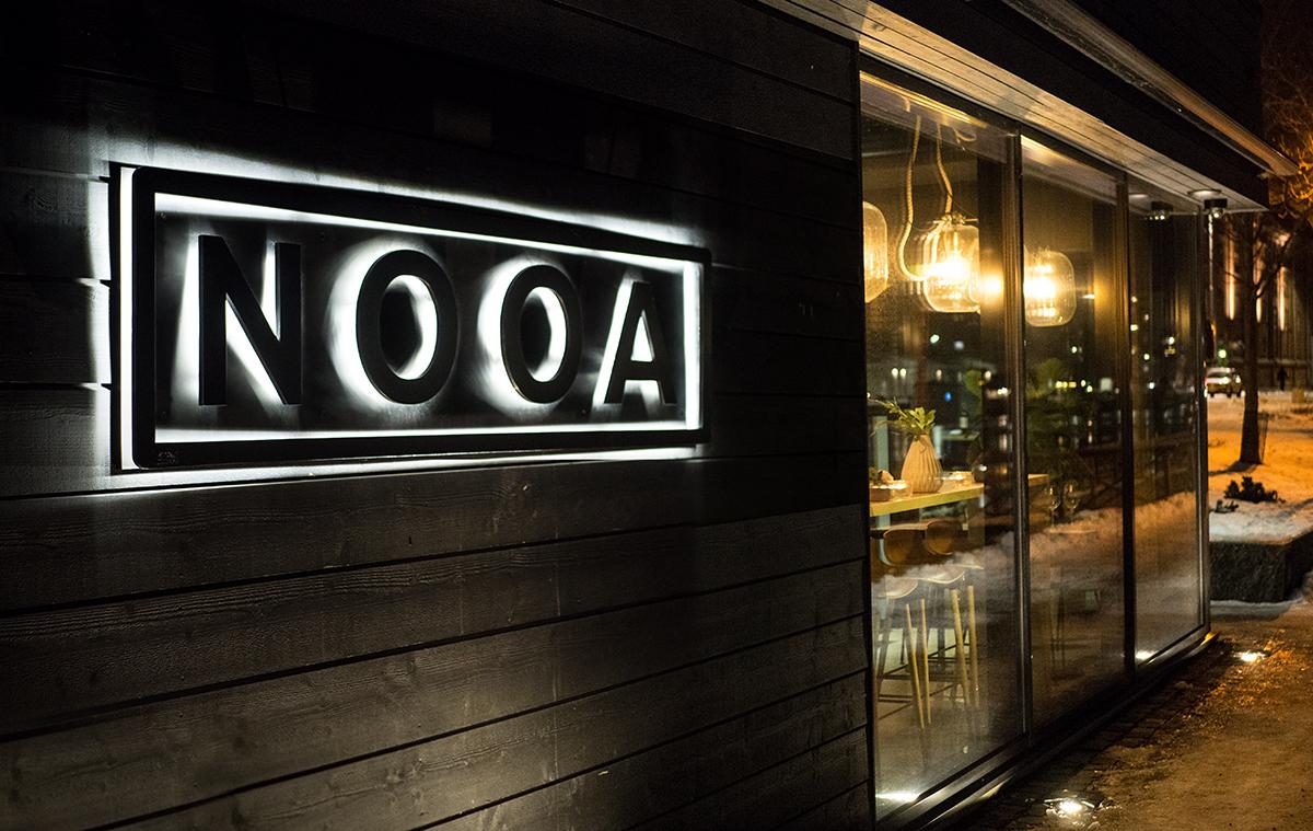 Ravintola NOOAn uusittu maistelumenu yllättää