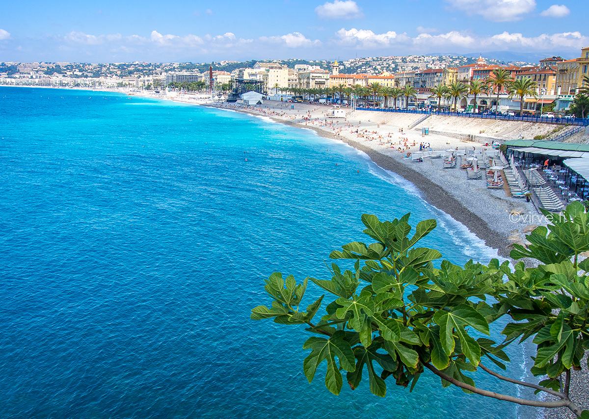 Nizza – sinisen rannikon pieni suurkaupunki