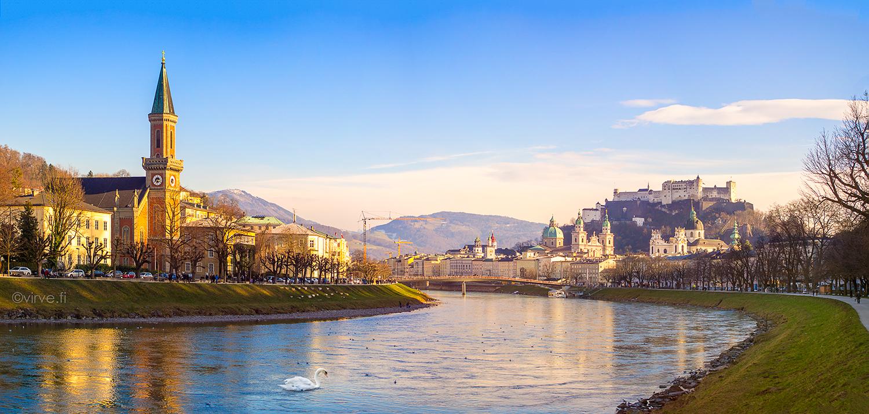 Salzburg – Itävallan kaunis helmi